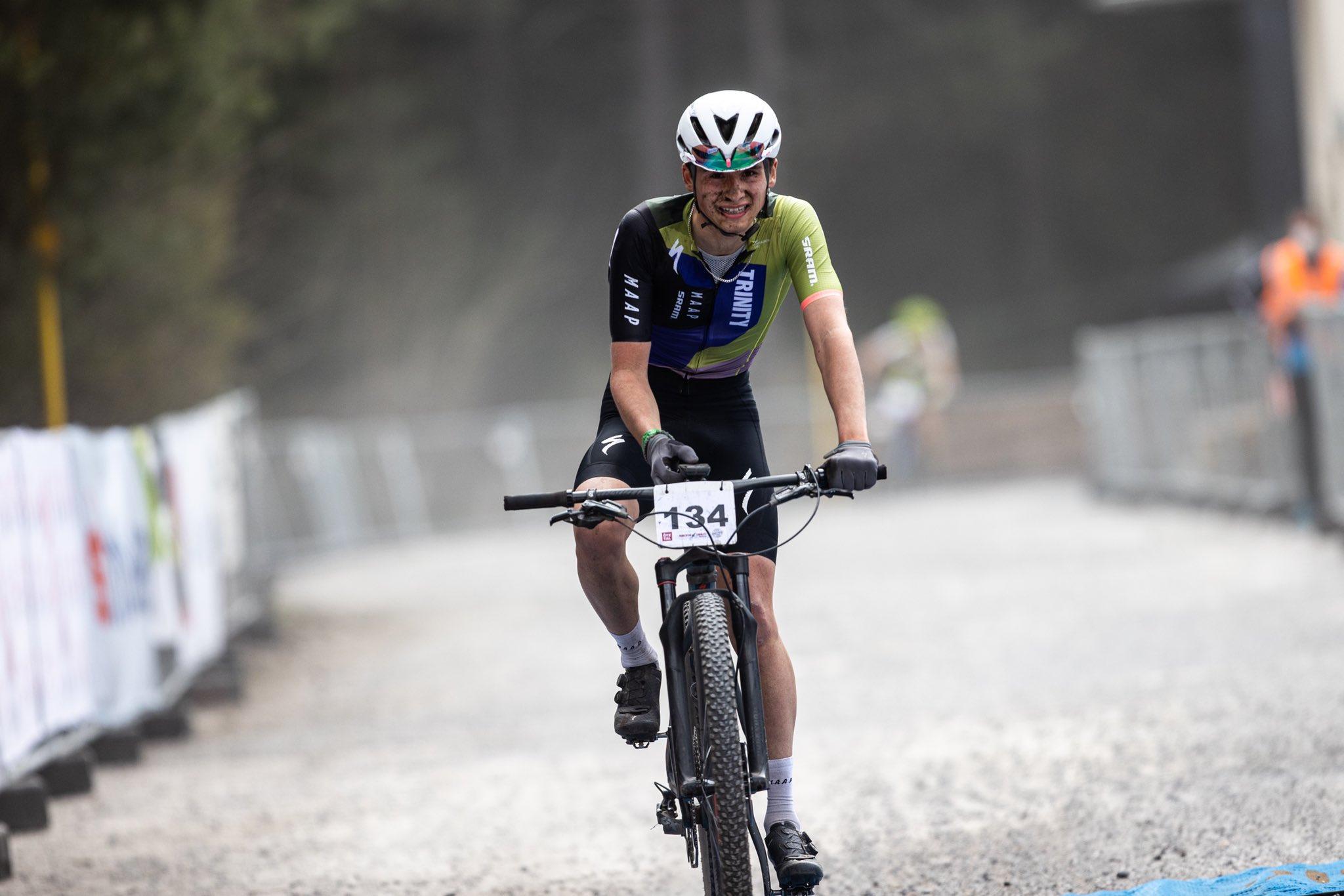 Cameron Mason racing at Oetzaler Haiming Trinity Racing Austria 2021