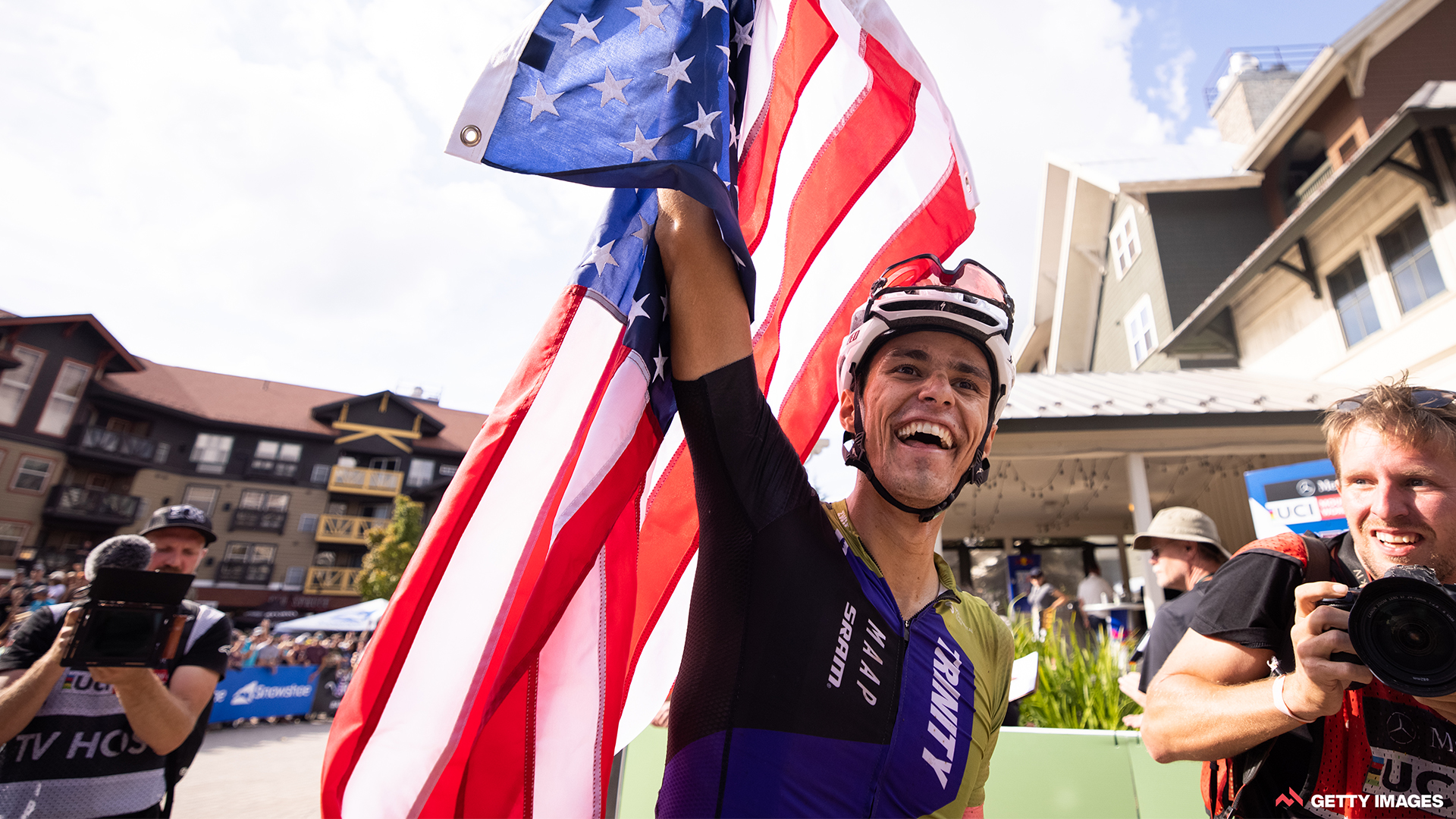 Christopher Blevins TRINITY racing Snowshoe UCI MTB World Cup