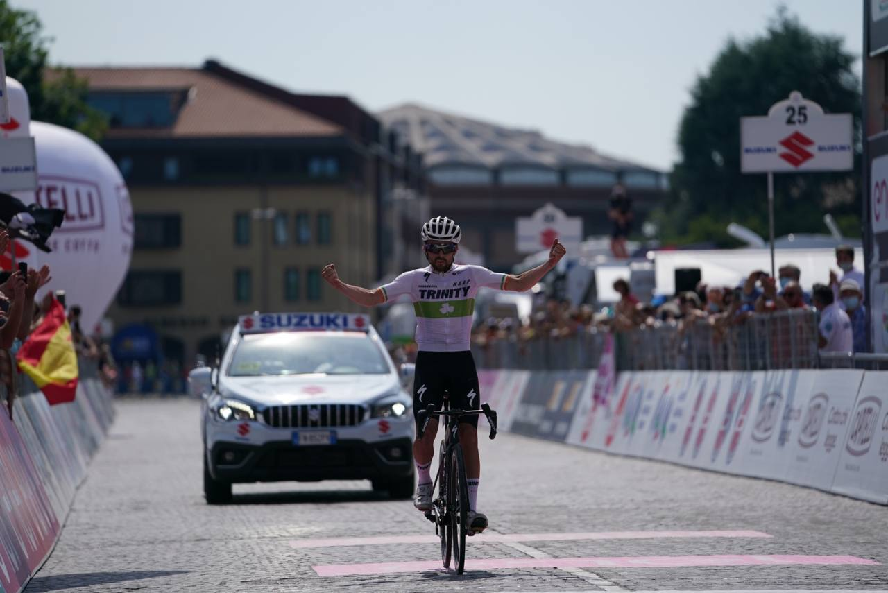 Ben Healy wins stage 10 of the Baby Giro for Trinity Racing 2021