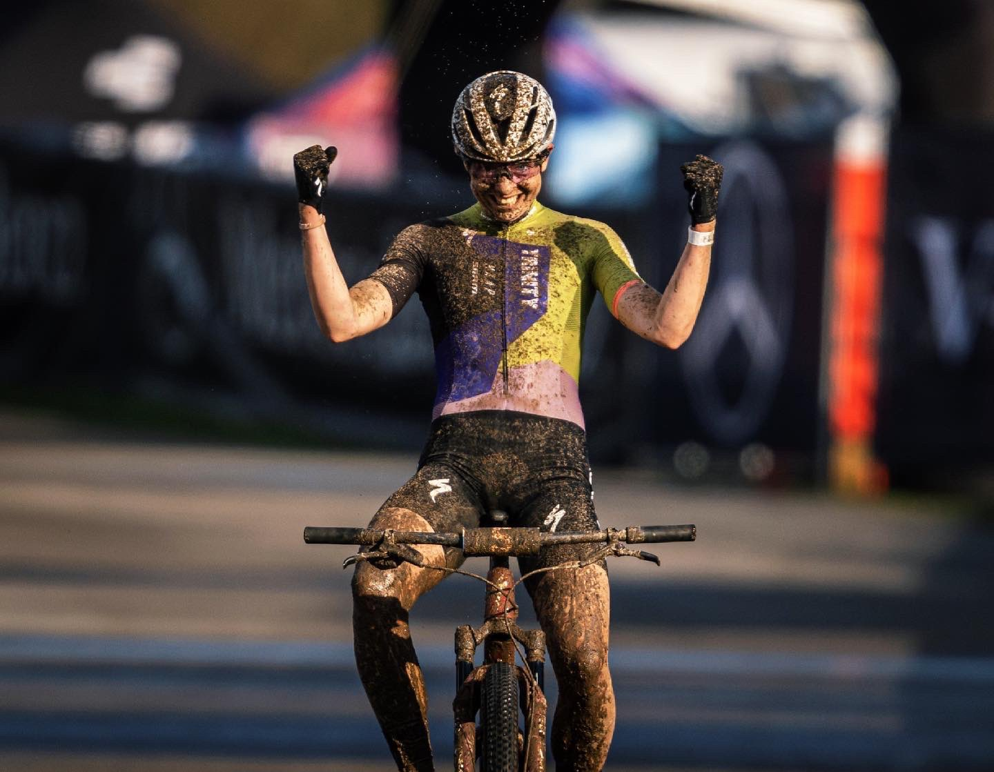 Haley Batten Trinity Racing UCI World Cup Specialized MTB