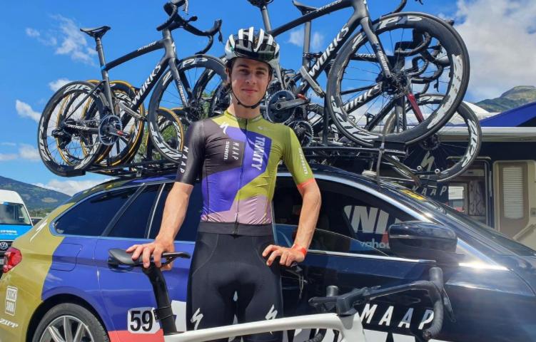 Rudy Porter Trinity Racing at Giro Valle d'Aosta